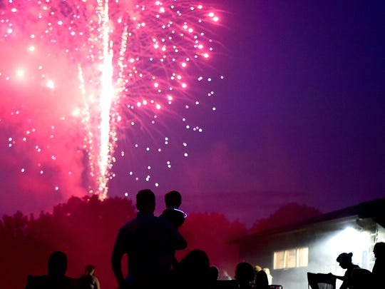 Owego Fourth of July celebration, featuring The Kirby Band and fireworks, at Hickories Park, Owego.