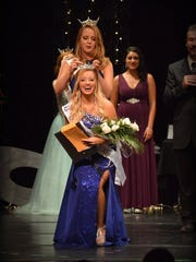 Staesha Gentry was crowned Miss Alamogordo Saturday, July 23 at the Flickinger Center for Performing Arts.