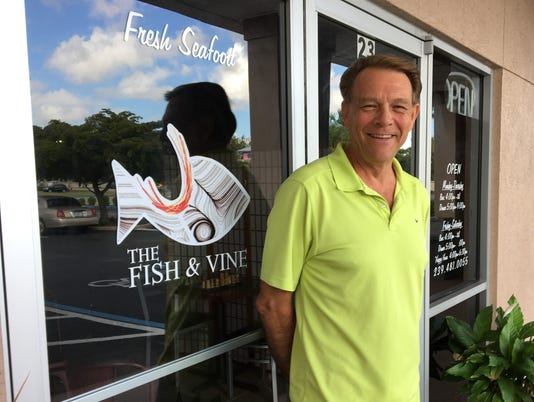 The Fish & Vine owner