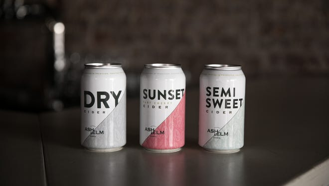 Indianapolis cider maker Ash & Elm is now canning its Dry, Semi-sweet and Sunset Tart Cherry ciders.