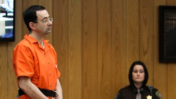 Larry Nassar's criminal cases end with Eaton County sentence of 40 to 125 years