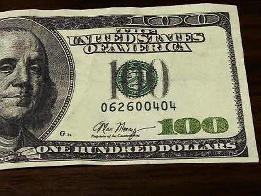 fake $100 bill