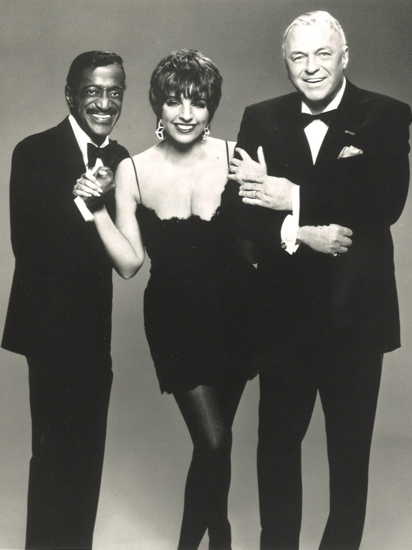 Sammy Davis, Frank Sinatra and Liza Minnelli.