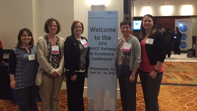 Those individuals from Ripon Medical Center that recently learned more about the Pathway to Excellence nursing designation were, from left: Lynda Vielbig, Karmen Voigt, Becky Stenerson, Tami Moffat-Keenlance and Alex Welch.