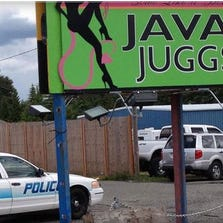 The Java Juggs espresso stand on Hwy 99 was one of the seven barista stands busted in Kent, Everett, Edmonds and other parts of Snohomish County for prostitution and lewd contact