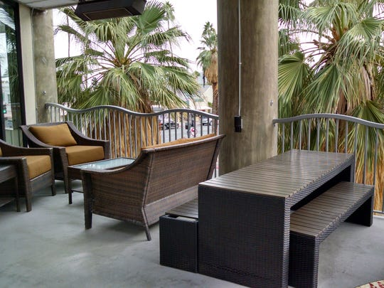 Part of the restaurants' appeal is their extensive second-level terraces with communal seating.