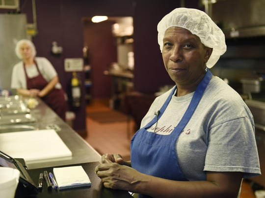 """Doris King, above, opened Josephine's soul food restaurant in 2013 because she believed it could serve Eastpointe's growing diversity. """"I think the security is what actually attracts people,"""" she said."""