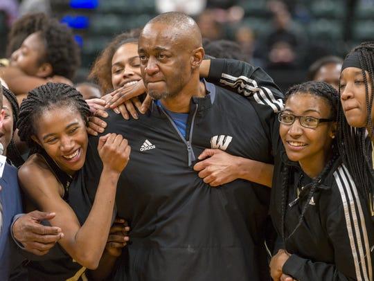 Warren Central High School head coach Stacy E. Mitchell