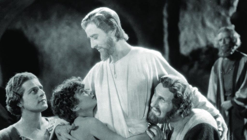 """DeMille/'s /""""The King of Kings/"""" The Last Supper 1927 Film Cecil B"""
