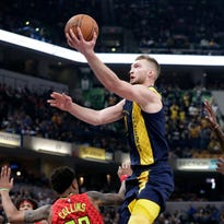 Pacers pick up where they left off, dominate Hawks from start to finish