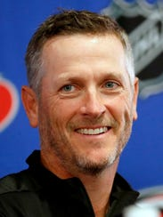 Tom Dundon was introduced in a news conference last