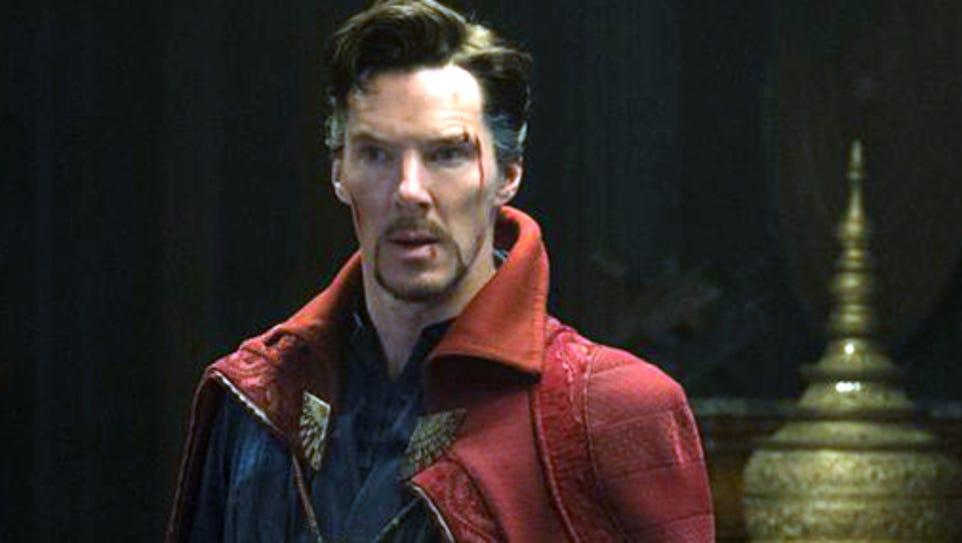 Benedict Cumberbatch portrays 'Doctor Strange'