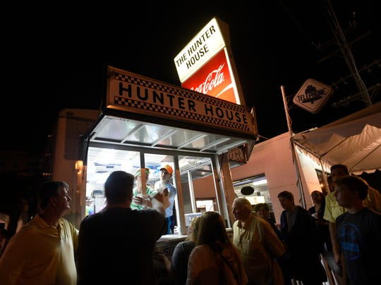 Hunter House is a favorite location to fuel up on hamburgers during the annual Woodward Dream Cruise.