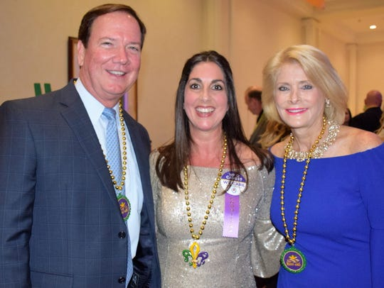 We Care Mardi Gras Celebration Co-Chair Hala Laviolette,
