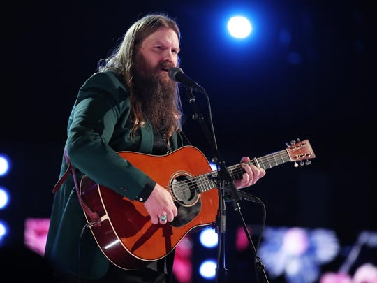 Chris Stapleton performs onstage at the 60th Annual GRAMMY Awards at Madison Square Garden on January 28, 2018 in New York City.