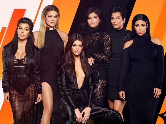 Kourtney, Khloé, Kendall, Kylie, Kris, Kim. Squad's