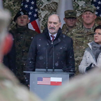 'We waited for decades': Polish leaders hail arrival of U.S. troops