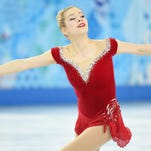 Gracie Gold of the USA performs in the women's short program.