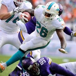 Thanks to a scheme that will give him a heavy load every week, the Dolphins' Lamar Miller is a top-five running back in our fantasy rankings.
