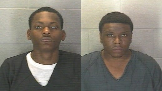 Terrell Anthony Jones (left) and Markell Tyler Scruggs.