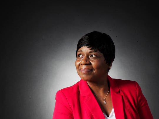 Canady Benjamin, a local minister is a breast cancer survivor. Photographed in the News-Press studio.