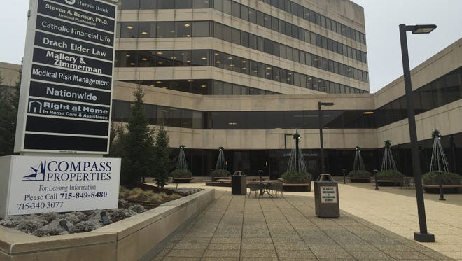 The City Square Office Center is holding a holiday open house Thursday to showcase its  extensive remodeling to the public.