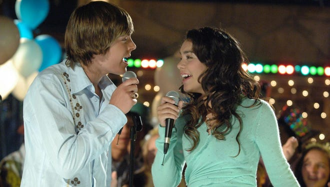 "Zac Efron and Vanessa Hudgens played romantic leads in Disney Channel's ""High School Musical"" trilogy and started dating soon after getting cast in the first movie."