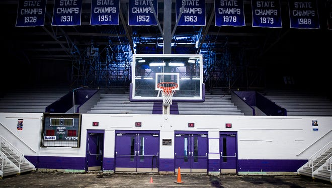 The Muncie Fieldhouse has been closed since Nov. 5, 2017, when a hole was ripped in the roof during severe thunderstorms and a tornado touchdown.