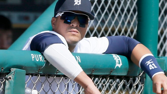Tigers DH Victor Martinez