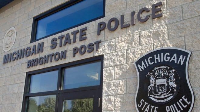 The Michigan State Police Brighton Post.