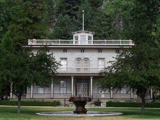 Bowers Mansion.