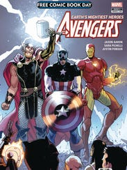 The Avengers are among the stars of Saturday's Free