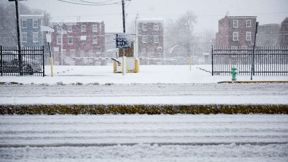A nor'easter brings snowfall to the Northeast Wednesday,