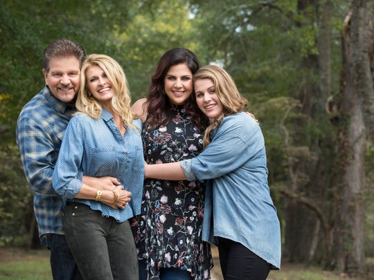 The Scott Family is, from left, Lang Scott, Linda Davis, Hillary Scott and Rylee Jean Scott.