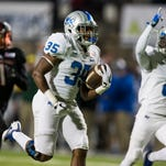 MTSU football's running back corps this spring is laden with depth — and injuries