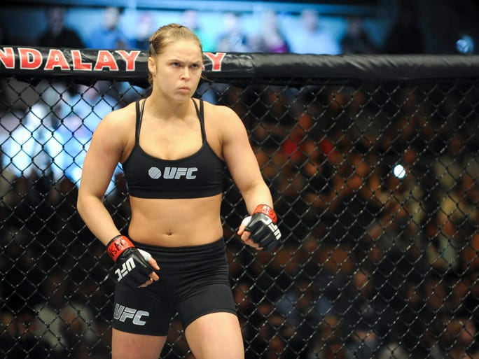 Ronda Rousey made quick work of Sara McMann in the main event of UFC 170, retaining her bantamweight title with a first-round TKO at the Mandalay Bay Events Center in Las Vegas.