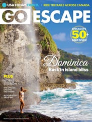 USA TODAY Go Escape will be on newsstands through Aug.