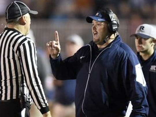 Andy Hape has posted a five-year record of 47-12 as Reitz's head coach. He was also an All-America tackle at Western Kentucky University.