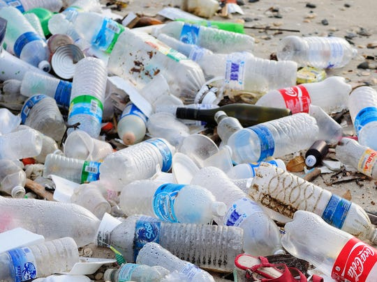 A 2017 study estimates that only 9 percent of the 8.3 billion metric tons of plastic produced since the 1950s has been recycled.