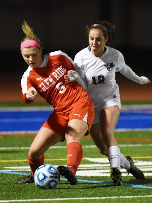 Colleen Grady (5) was voted one of Glen Ridge's Most Valuable Players.