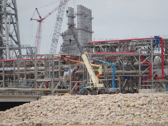 Work continues at the Cheniere Energy's Corpus Christi