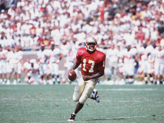 FSU quarterback Charlie Ward