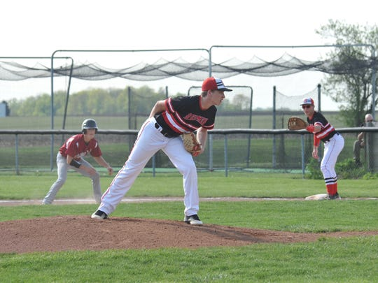 Trenton Dunford was clinical on the mound against Willard allowing just five hits, striking out five in the process.