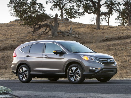 Like the Trax, the 2015 Honda CR-V is known for fuel