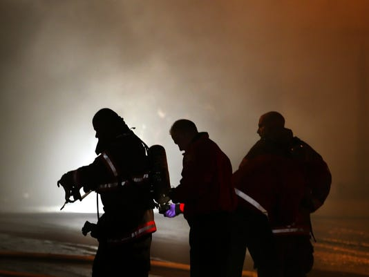 Warehouse Fire Atlas Drive in Nashville