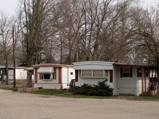 Baker Estates at 1030 E. Columbia Ave. in Emmett Township.