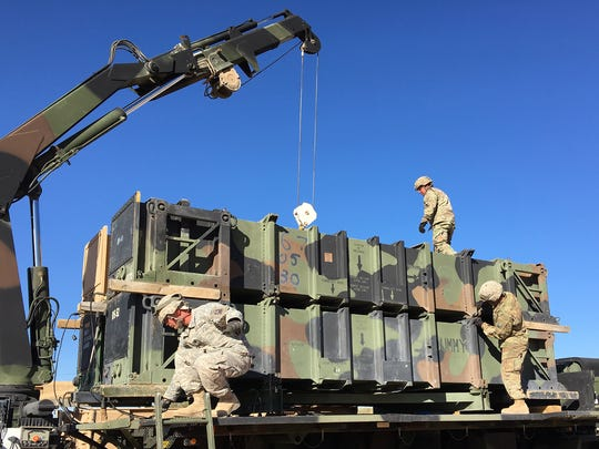 Soldiers from Bulldawg Battery and the rest of 5-52 ADA practiced their full range of skills during their recent mission rehearsal exercise.