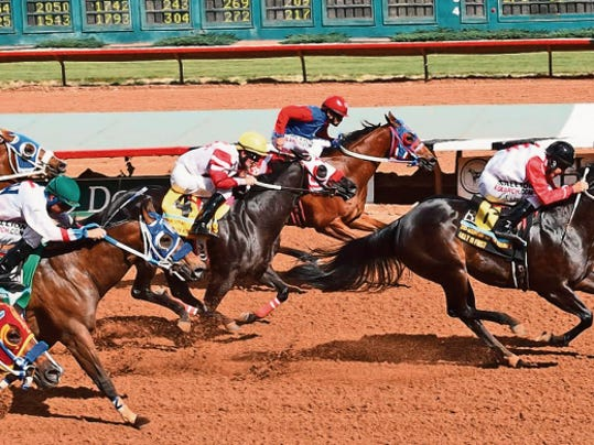 Lilly Is First won her Mountain Top Futurity trial by two lengths in :17.461.