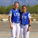 Lakeland grads reunited on softball diamond