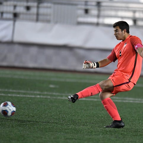 Castle goalkeeper Michael Bertram to miss season after suffering knee injury
